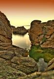 11 миль озера Стоковая Фотография RF