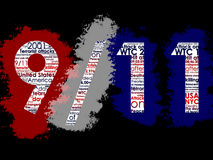 11 2001 Σεπτέμβριος ελεύθερη απεικόνιση δικαιώματος