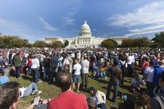 11 2009 голубых октябрь -го маршей выпрямляют вашингтон Стоковое фото RF