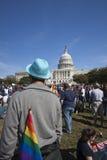 11 2009 homoseksualnych marszu Październik dóbr zdjęcia stock