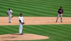 11 2010钉比赛准备好托马斯老虎的7月 免版税图库摄影