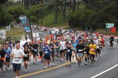11 2010 francisco maratonmiles san Royaltyfri Fotografi