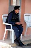 11 2012 Kwiecień policjant Jordan Zdjęcia Stock