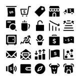 Значки 11 вектора моды Стоковые Фотографии RF