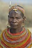 11 afrikanska folk Royaltyfria Bilder