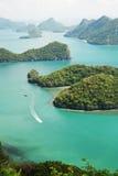 11 angthong海岛ko mu 免版税库存照片
