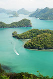 11 angthong wyspy ko mu Zdjęcie Royalty Free