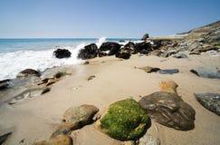 11 beachscape malibu 免版税库存图片