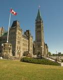 11 byggande kanadensiska captial Royaltyfria Foton