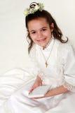 11 communion premier Images libres de droits