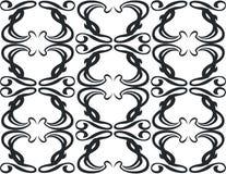 11 czarny ornament Zdjęcie Stock