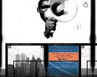 11 de septiembre de 2001 ilustración del vector