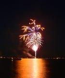 11 fireworks Στοκ Φωτογραφίες