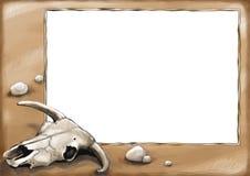 11 gammala västra för kort stock illustrationer