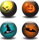 11 Halloween ilustracja wektor