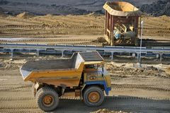 11 kopalnia węgla Zdjęcia Stock