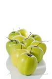 11 maçãs Imagem de Stock Royalty Free