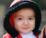 11 meses del bebé Imagenes de archivo