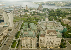 11 miasto Quebec Zdjęcia Stock