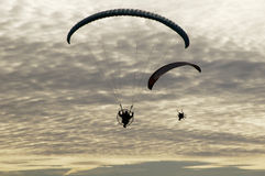 11 paragliding Zdjęcie Stock