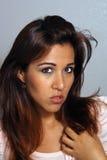 11 piękny headshot Latina Fotografia Stock
