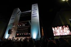 11 september - het Frans zal nooit vergeten Stock Foto's