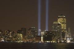 11 settembre Memorial_2 Fotografia Stock Libera da Diritti