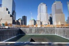 11 settembre NYC commemorativo Immagine Stock Libera da Diritti