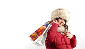 11 som shoppar Royaltyfria Foton