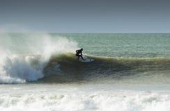 11 som surfar Arkivfoto