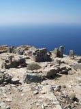 11 starożytnego thira Fotografia Stock