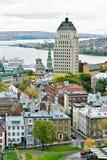 11 stary Quebec Zdjęcia Royalty Free