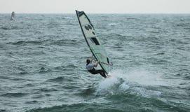 11 windsurfer Zdjęcia Royalty Free