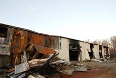 11 zniszczenia ognia zdjęcie stock