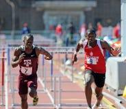 110 2011 relays för häckräkneverkpenn Royaltyfria Bilder