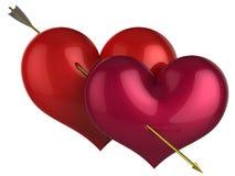 110 höga förälskelseprocent res Arkivbild