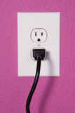 A 110 volt wall outlet Stock Images