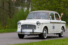 1100 1959年汽车命令lusso葡萄酒 免版税库存照片