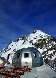 11000英尺园屋顶的小屋 图库摄影