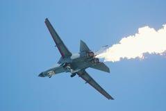 111 airshow动力f新加坡将军 库存图片