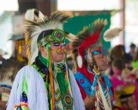 113o Powwow anual de la celebración de Arlee Imagen de archivo