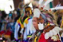 113ste Jaarlijkse Arlee Viering Powwow stock foto