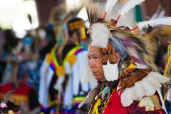 113th Powwow anual da celebração de Arlee Foto de Stock