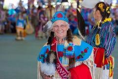 113th Powwow anual da celebração de Arlee Fotos de Stock