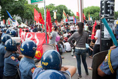 114ste de onafhankelijkheidsdag van Filippijnen stock afbeeldingen