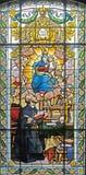116 стекел запятнало окно Стоковые Изображения