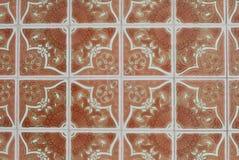 117 glasade portugisiska tegelplattor Royaltyfri Bild
