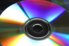 1190光盘科学技术 库存照片