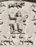 1193 1197 cyzelowania katedralnych demetrius st kamieni Obrazy Royalty Free