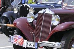 11mo Circuito que compite con de la vendimia de Génova Imagen de archivo